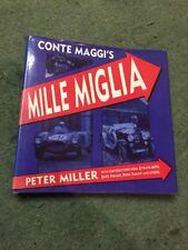 CONTE MAGGI'S MILLE MIGLIA PETER MILLER FERRAR ALFA ROMEO MERCEDES MASERATI JAG