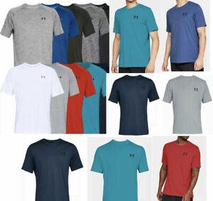 Men's Under Armour Heat Gear Short Sleeve Tee Shirt Sports-style T-Shirt Tops M