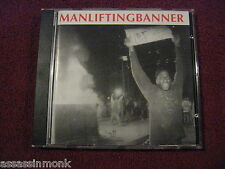 MAN LIFTING BANNER We Will Not Rest CD discography Seein Red Larm sXe HC
