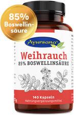 Ayursana - Weihrauch Kapseln mit 85% Boswelliasäure (140 Kapseln)