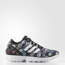 ADIDAS ORIGINALS ZX FLUX WOMEN'S RUNNING SHOES SIZE US 5.5 FLOWER PRINT BB5052