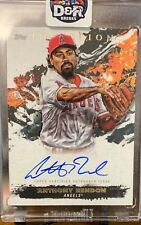 2021 Topps Inception Anthony Rendon auto /10