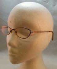 Liz Claiborne 1FO Rose-Gold Delicate Bling Designer Eyeglasses Frames L292 135