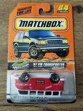 1998 Matchbox '67 VW Transporter Error Packaging Upside Down MIB