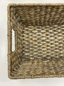 Pottery Barn Charleston Handwoven Seagrass Underbed Basket