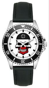 Deutsches Reich Kaiserreich Skull WH Geschenk Artikel Idee Fan Uhr L-1811