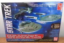 AMT 762 Star Trek The Motion Picture Cadet Series 3 Piece set model kit 1/2500