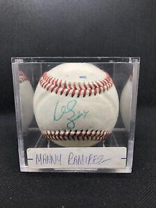 Manny Ramirez JSA COA Signed American League Baseball Autograph