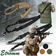 Single One Point / Two Point Tactical Rifle Gun Sling w/ Quick Release Buckle