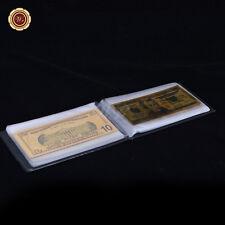 WR 14pcs Gold Banknote Set $1 - $1 Billion US Lot Dollar Note /w Free Album Gift