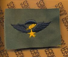 US Army Master Vietnamese Army Airborne parachute wing cloth patch