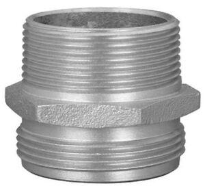 Dixon DMH2525 Hex Nipple | Fire Hose Adapter, MNPTxMNPSH, (2-1/2 In