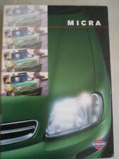 Nissan Micra range brochure Apr 1998 Irish market