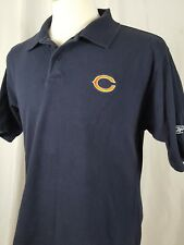 Reebok NFL Chicago Bears Polo Shirt Men's S 100% Cotton Embroidered