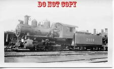 6G917 RP 1940s? C&NW CHICAGO & NORTH WESTERN RAILROAD LOCOMOTIVE #2014