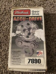 Edelbrock #7890 Accu-Drive Cam Gear Drive for 57-95 Small Block Chevy 265-400