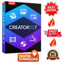 2020 Roxio Creator NXT Pro 7 Version Lifetime License Photo Animation Software