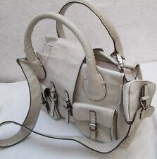 -AUTHENTIQUE  sac à main beige CHLOÉ Edith cuir TBEG vintage