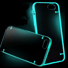 SKY Blue Glow TPU Rubber Ultra Thin Clear Case Cover for iPhone 6 4.7inch NEW