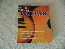New Ultimate Guitar Guide Nick Freeth Hard Cover Step by Step Dvd's + Music Book