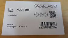 Genuine Swarovski 5328 Xilion Bicone beads Plain Colours in full wholesale packs