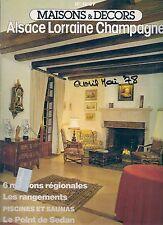 "MAISONS & DECORS N° 18 ""Avril 1978""--ALSACE LORRAINE CHAMPAGNE/PISCINES/SAUNA"