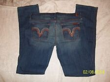 NWT  SEVEN 7 FOR ALL MANKIND ORG RAINBOW POINT 7 KATE  JEANS W 30 RET $179.99