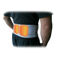 Heated Back Wrap back pain relief Comes with two free 24 hour body warmers 196