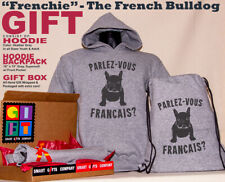 French Bulldog Frenchie Parlez-vous Francais? Hoodie Gift Pack Super Soft Fabric