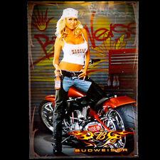 2005 Budweiser Myrtle Beach Biker Babe 19x27 Poster Sold by the Creator