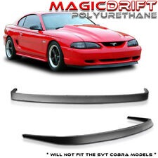 FORD MUSTANG 94-98 FRONT BUMPER LIP SPOILER BODY KIT CHIN POLY URETHANE MACH 1
