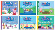 Peppa Pig and the Muddy Puddles,Vegetable Garden,Busy Day School+(6-Paperback)