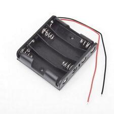 Battery Box Slot Holder Case for 4 Packs Standard AA 2A Batteries Stack 6V ym