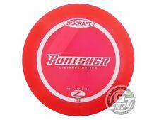 NEW Discraft Elite Z Punisher 160-163g Red White Stamp Distance Driver Golf Disc