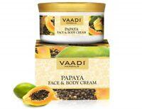 Vaadi Herbals Face and Body Cream, Papaya, 150g*u.k