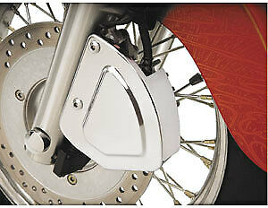 Show Chrome - 53-447 - Stepped Front Brake Caliper Cover Steel Front Left