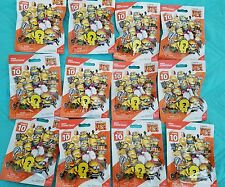 (12) Mega Construx Despicable Me 3 MINIONS Series 10, COMPLETE SET OF 12, SEALED