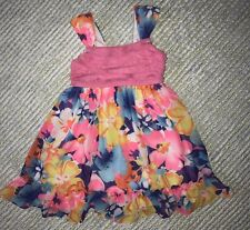 EUC Girls YOUNGLAND Floral Dress Size 4T