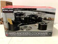 Kirkland Signature 12-piece Hard Anodized Cookware Set