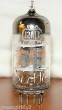 RCA 12AT7 ECC81 Radio Tube  Results 3600/3400 µmhos 6.0/5.6 mA