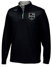 Los Angeles Kings Reebok NHL 2016 Center Ice Speedwick 1/4 Zip Sweatshirt
