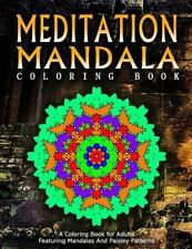 Women Coloring Books for Adults: MEDITATION MANDALA COLORING BOOK - Vol. 13 :...