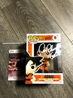 Sean Schemmel Signed Goku Autograph Funko Pop JSA