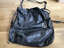 Michael Kors Shiny Silver Crossbody Bag