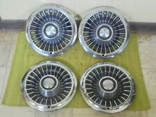 "1966 Pontiac HUBCAPS 14"" Set of 4 Wheel Covers Hub Caps 66"