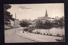 112341 AK Insterburg Ostpreußen 1915 Partie am Schloßteich mit Kirche