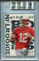 2000 Black Diamond Football 126 Tom Brady Rookie Card RC Graded BGS Mint 9 w 9.5