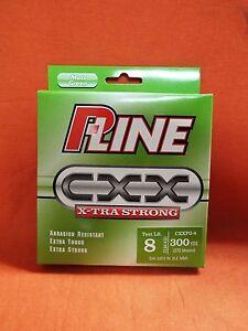 P-LINE CXX X-tra Strong Fishing Line 8lb (300yd) #CXXFG-8 Moss Green