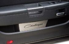 ACC Dodge Challenger Brushed Door Badge Plates & Challenger Script (2008-2014)