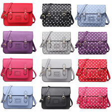 Magnetic Snap Faux Leather Outer Satchels Unbranded